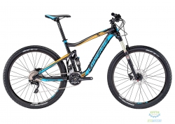 Велосипед Lapierre X-CONTROL 327 44 M Black/Yellow 2016