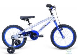 Велосипед 16 Apollo Neo boys Brushed Alloy / Blue / Black 2018