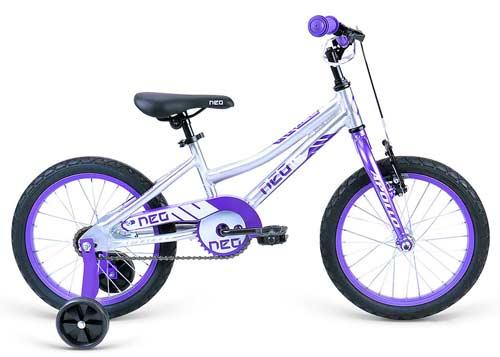 Велосипед 16 Apollo Neo girls фиолетовый/белый 2018