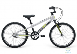 Велосипед 20 Apollo Neo 3i boys Brushed Alloy / Black / Lime 2019