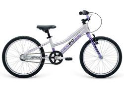 Велосипед 20 Apollo Neo 3i girls фиолетовый/черный 2018