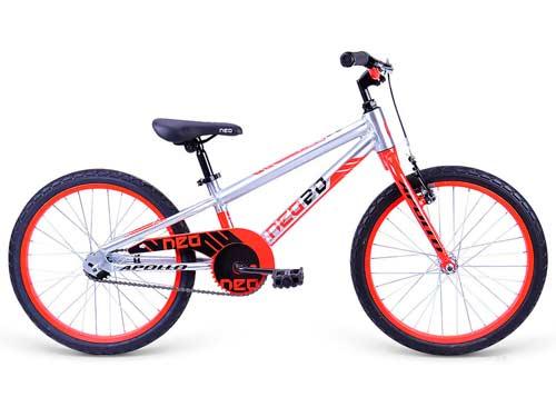 Велосипед 20 Apollo Neo boys красный/черный 2020