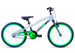 Велосипед 20 Apollo Neo boys черный/салатовый 2021