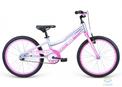 Велосипед 20 Apollo Neo girls розовый/белый 2021