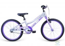 Велосипед 20 Apollo Neo girls сиреневый/белый 2021