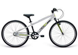 Велосипед 24 Apollo Neo 3i boys Brushed Alloy / Black / Lime 2019