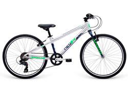 Велосипед 24 Apollo Neo 7s boys Brushed Alloy / Navy Blue / Neon Green 2018