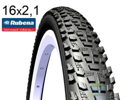 Покрышка 16x2.10 (54-305) MITAS (RUBENA) Ocelot V85 Classic черная