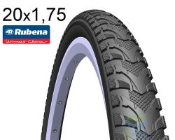 Покрышка 20 x 1.75*2 (47x406) MITAS (RUBENA) DART V67 Classic черн.