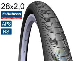 Покрышка 28x2.00 (52x622) RUBENA CITYHOPPER V99 Classic APS+RS черная