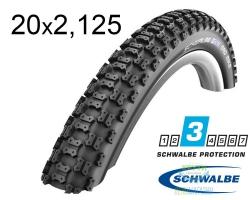 Покрышка 20x2.125 (57-406) Schwalbe MAD MIKE HS137 KevlarGuard B/B SBC 50EPI