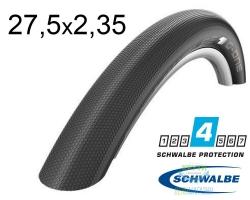 Покрышка 27.5x2.35 650B (60-584) Schwalbe G-ONE Speed RaceGuard, Folding B/B-SK HS472 DC 67EPI EK