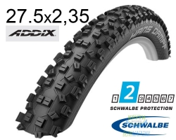 Покрышка 27.5x2.35 (60-584) Schwalbe HANS DAMPF Performance Folding Addix IB