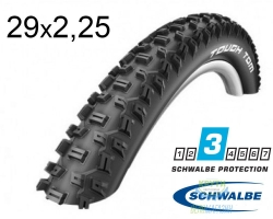 Покрышка 29x2.25 (57-622) Schwalbe TOUGH TOM K-Guard HS411 B/B-SK SBC