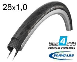 Покрышка 700x25C (25-622) Schwalbe LUGANO Endurance Reinforced B/B HS471 T5000 50EPI