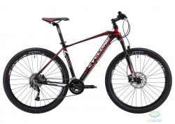 Велосипед Cyclone 27,5 LX-650b  рама - 17 черно-красный 2018
