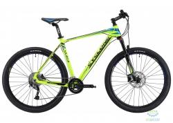 Велосипед Cyclone 27,5 LX-650b  рама - 21 зелено-синий  2018
