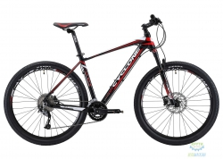 Велосипед Cyclone 27,5 LX-650b  рама - 21 черно-красный 2018