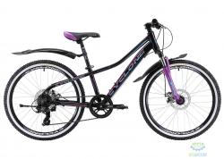 Велосипед Cyclone 24 DREAM 2.0 черно-фиолетовый 2018