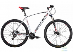 Велосипед 29 Winner Gladiator Рама - 18 Бело-Черный 2018