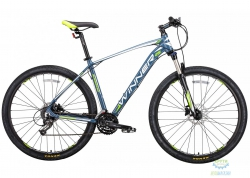 Велосипед 29 Winner Gladiator Рама - 18 Серо-Зеленый-Мат 2018