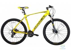 Велосипед 27,5 Winner Drive Рама - 21 Желто-Черный-Мат 2018