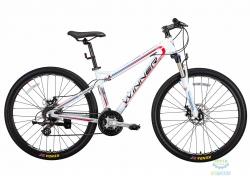 Велосипед 27,5 Winner Stella Рама - 16 Белый 2018