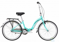 Велосипед 24 Winner Ibiza Бирюза Складной 2018