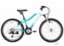 Велосипед 24 Winner Betty Рама - 13 Бело-Голубой 2018