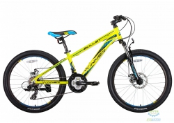 Велосипед 24 Winner Bullet Рама - Рама - 12,5 Зеленый 2018
