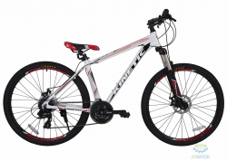 Велосипед 27,5 Kinetic Crystal Рама - 17 Бело-Красный 2018