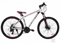 Велосипед 27,5 Kinetic Crystal Рама - 19 Бело-Красный 2018