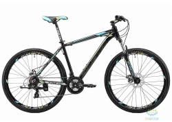 Велосипед 27,5 Kinetic Storm Рама - 19 Черно-Голубой 2018