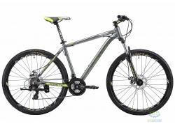 Велосипед 27,5 Kinetic Storm Рама - 21 Серо-Зеленый 2018
