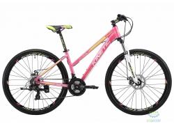 Велосипед 27,5 Kinetic Vesta Рама - 17 Розовый 2018