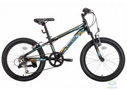 Велосипед 20 Kinetic Coyote Рама - 11 Черно-Голубой 2018