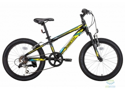 Велосипед 20 Kinetic Coyote Рама - 11 Черно-Желтый 2018