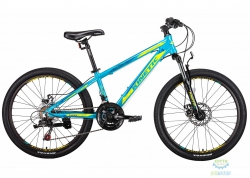 Велосипед 24 Kinetic Sniper Рама - 12 Голубой 2018