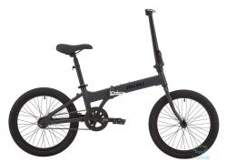 Велосипед 20 Pride MINI 1 темно-серый/черный 2018