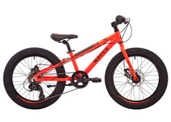 Велосипед 20'' Pride Rocco 2.1 красный 2018