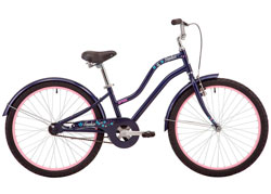 Велосипед 24 Pride Sophie 4.1 темно-синий 2019