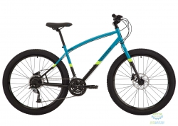Велосипед 27,5 Pride Rocksteady 7.2 рама - M голубой/черный 2018