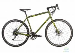 Велосипед 28 Pride Rocx Tour рама - XL хаки/лайм 2018