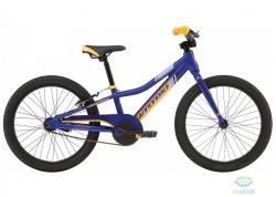 Велосипед 20 Cannondale BOYS SS синий с оранжевым 2017