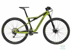 Велосипед 27,5 Cannondale SCALPEL SI 4 Carbon рама - S 2017 ARG зеленый