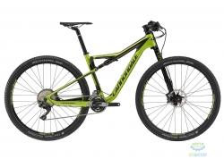 Велосипед 27,5 Cannondale SCALPEL SI 4 Carbon рама - S 2017 ARG зеленый