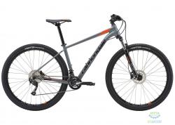 Велосипед 27,5 Cannondale TRAIL 7 рама - M 2018 SGY серый с оранжевым