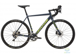 Велосипед 28 Cannondale CAADX Ultegra disc рама - 51 2018 SLA серо-синий