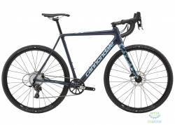 Велосипед 28 Cannondale SUPERX Apex 1 рама - 56 2018 SLA серо-синий