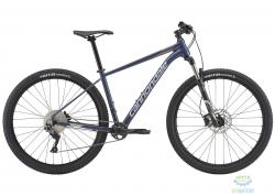 Велосипед 29 Cannondale TRAIL 4 рама - X 2018 SLA серо-синий